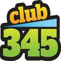 Club 345 logo